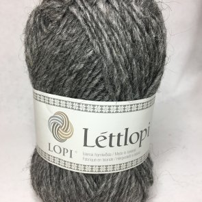 Léttlopi färg 0057 Grey heather (mörkgrå)