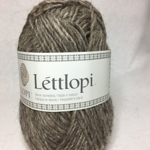 éttlopi färg 0085 Oatmeal heather (brunbeige)