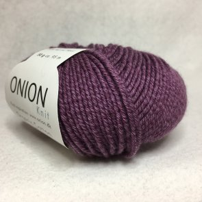 Organic Cotton Merino Wool färg 0704 plommonlila